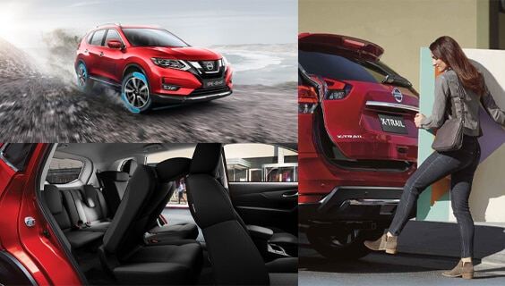 NISSAN X-TRAIL 2WD AUTO ST FEATURES